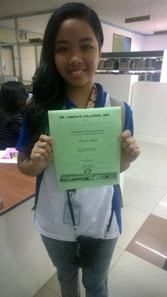Accounting student awardee