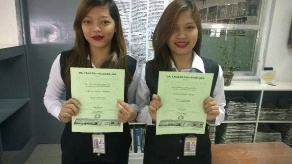 HRM student awardees