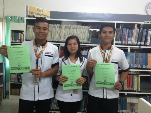 Mechanical Engineering student awardees